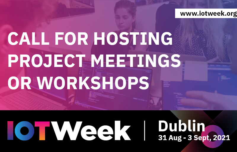 Call for hosting project meetings or workshops