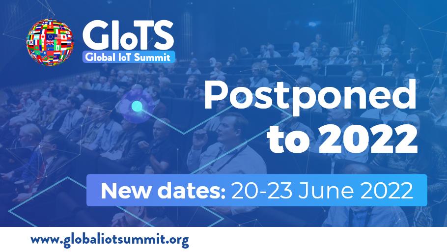 Postponed to 2022