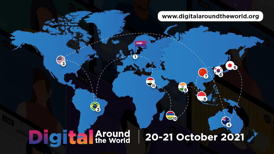 Digital Around the World